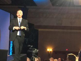 Stefan Swanepoel speaks at Tom Ferry's 2016 Success Summit in Las Vegas.