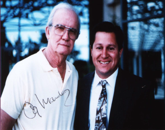 Og Mandino and Gino Blefari